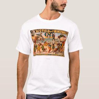 すばらしい吟遊詩人-ビーチのピエロの束 Tシャツ