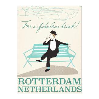 すばらしい壊れ目のため! ロッテルダムのオランダ キャンバスプリント