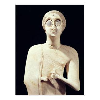 すばらしい女神の彫像は、からAsmarを告げます ポストカード