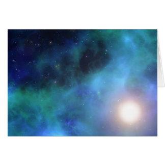 すばらしい宇宙 グリーティングカード