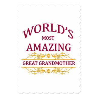 すばらしい曾祖母 カード