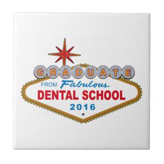 すばらしい歯学部2016年(ベガス)からの卒業生 タイル