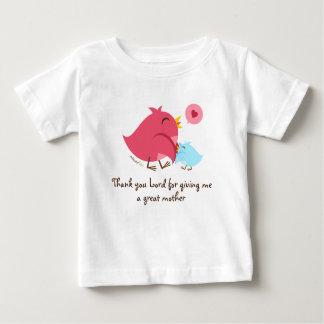 すばらしい母のためのありがとうの主 ベビーTシャツ