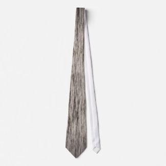 すばらしい灰色の木製の穀物 ネクタイ
