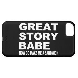 すばらしい物語の可愛い人… おもしろいなiPhone 5の場合 iPhone5Cケース