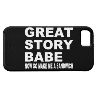 すばらしい物語の可愛い人… おもしろいなiPhone 5の場合 iPhone SE/5/5s ケース
