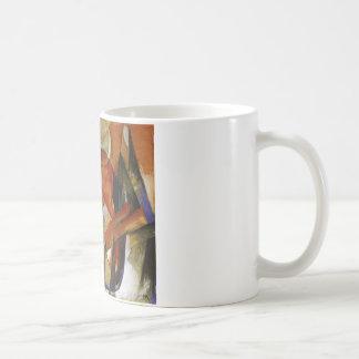 すばらしい獣フランツ・マルク著II コーヒーマグカップ