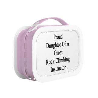 すばらしい石の登山のインストラクターの誇り高い娘 ランチボックス