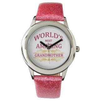 すばらしい祖母 腕時計