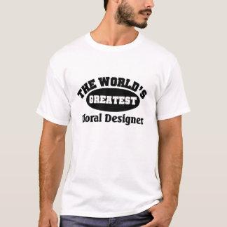 すばらしい花デザイナー Tシャツ