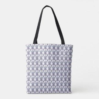すばらしい花模様のバッグ トートバッグ