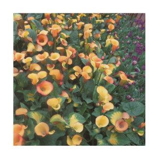 すばらしい蝶庭の花束によってはdecoが開花します ウッドウォールアート