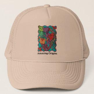 すばらしい起源色のドラゴンの帽子 キャップ