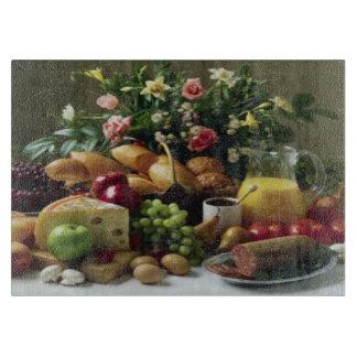 すばらしい食糧饗宴のガラスまな板11x8 カッティングボード