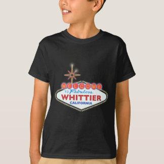 すばらしいWHITTIER Tシャツ