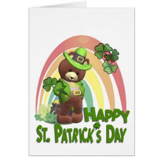 すばらしくかわいく、非常に内気なアイルランド語は#2に耐えます カード