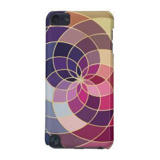 すばらしくカラフルな抽象デザイン iPod TOUCH 5G ケース