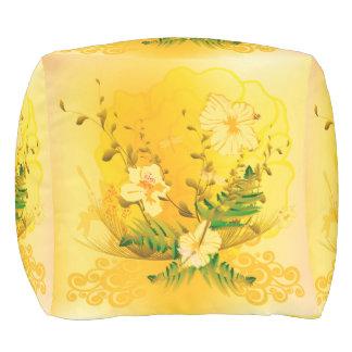 すばらしく柔らかく黄色い花 プーフ