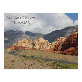 すばらしく赤い石渓谷の郵便はがき! ポストカード