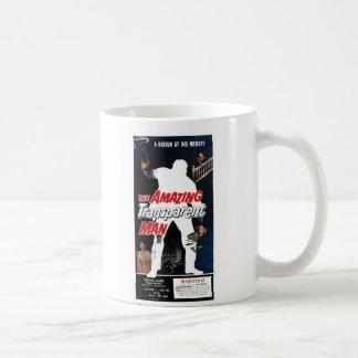 """""""すばらしく透明な人""""のマグ コーヒーマグカップ"""