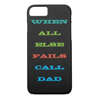 すべてが失敗するとき呼出しパパはiPhoneの場合を卒業させます iPhone 8/7ケース