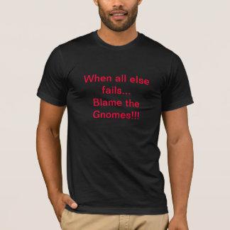 すべてが責任を格言失敗する時 Tシャツ