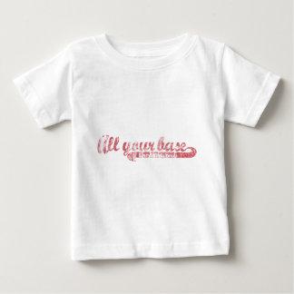 すべてのあなたの基盤-赤 ベビーTシャツ