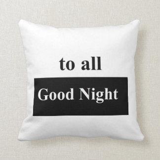 """すべてのおやすみなさいポリエステル装飾用クッション16""""にx 16"""" クッション"""