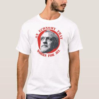 すべてのために働く経済 Tシャツ
