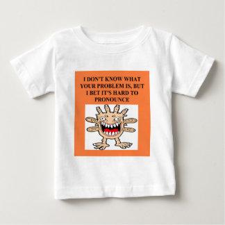 すべてのためのおもしろいな侮辱 ベビーTシャツ
