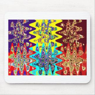 すべてのためのエキゾチックでカラフルで幾何学的で写実的なギフト マウスパッド