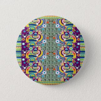 すべてのためのエキゾチックでカラフルで幾何学的で写実的なギフト 缶バッジ
