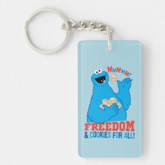 すべてのための自由及びクッキー! キーホルダー