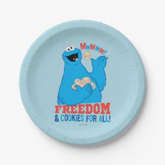 すべてのための自由及びクッキー! ペーパープレート