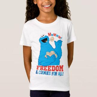 すべてのための自由及びクッキー! Tシャツ