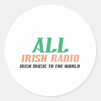 すべてのアイルランドのラジオ ラウンドシール