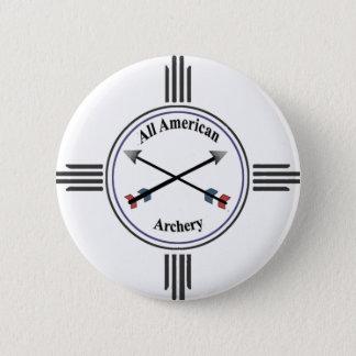 すべてのアメリカのアーチェリーボタン 5.7CM 丸型バッジ