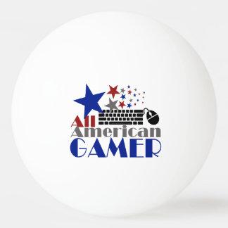 すべてのアメリカのゲーマー 卓球ボール