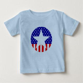 すべてのアメリカのスーパースター ベビーTシャツ
