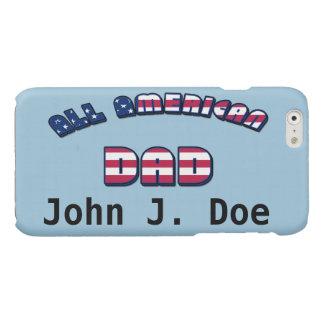 すべてのアメリカのパパ 光沢iPhone 6ケース