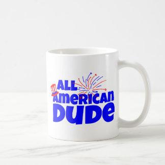 すべてのアメリカの男 コーヒーマグカップ