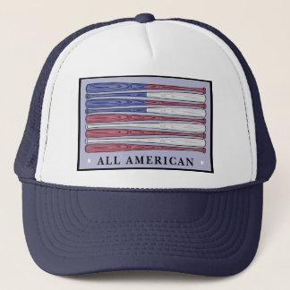 すべてのアメリカの野球用バットの旗の愛国心が強い帽子 キャップ