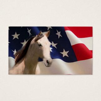 すべてのアメリカの馬の名刺 名刺