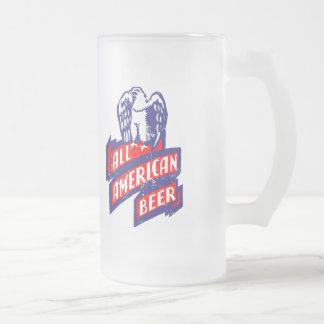 すべてのアメリカビール フロストグラスビールジョッキ