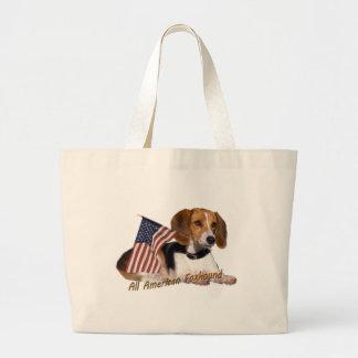 すべてのアメリカFoxhoundの服装及びギフト ラージトートバッグ