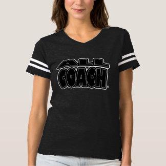 すべてのコーチ; 黒句サイズのスタイルのTシャツ Tシャツ