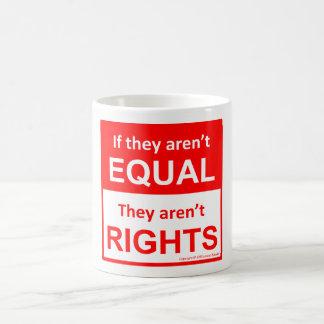 すべてのコーヒー・マグのための等しい権利 コーヒーマグカップ
