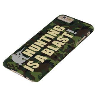 すべてのハンターのためのおもしろい句: 狩りは送風です、 BARELY THERE iPhone 6 PLUS ケース