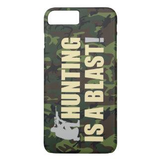 すべてのハンターのためのおもしろい句: 狩りは送風です、 iPhone 8 PLUS/7 PLUSケース