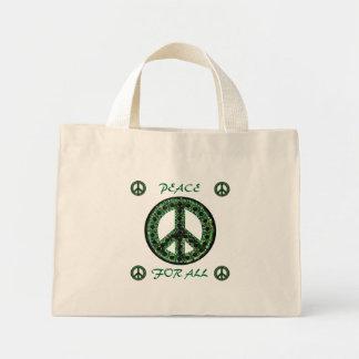 すべてのバッグのための緑の平和 ミニトートバッグ